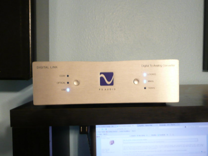 PS Audio Digital Link III Digital to Anolog Converter Shipped Free