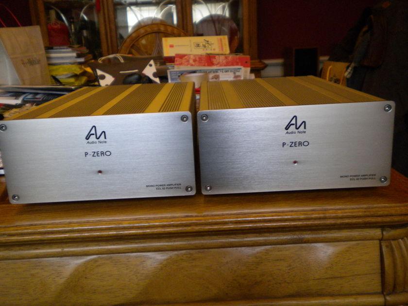 Audio Note P-Zero Mono Power Amp