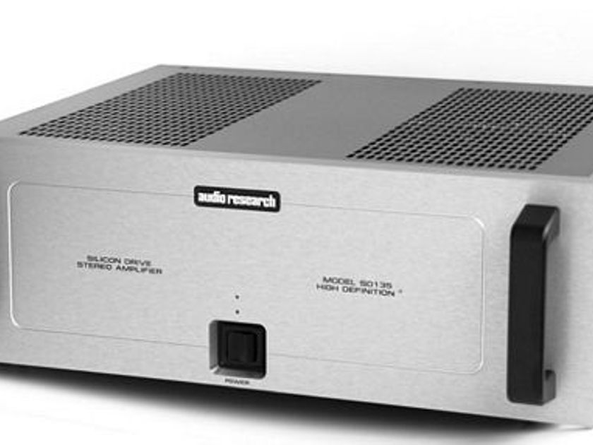 Audio Research SD-135 Stereo Amplifier