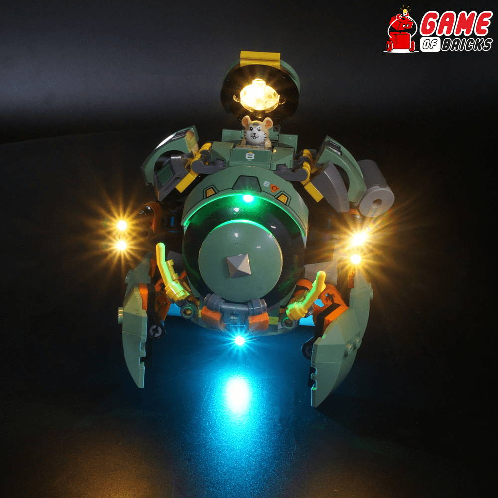 lego night light for WRECKING BALL 75976