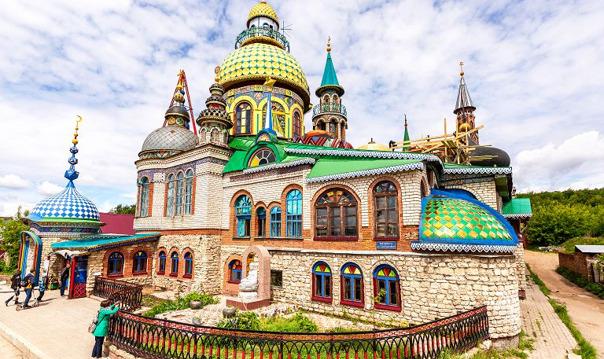 Поездка в Раифский монастырь и осмотр Храма всех религий
