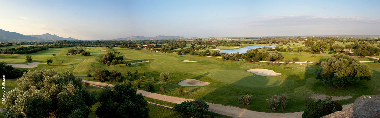 Hamburg - Golf course designed by golf legend Gary Player at Is Molas Resort on the Italian island of Sardinia.