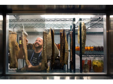 Bring Home a Year's Worth of Bacon from Zazu Kitchen