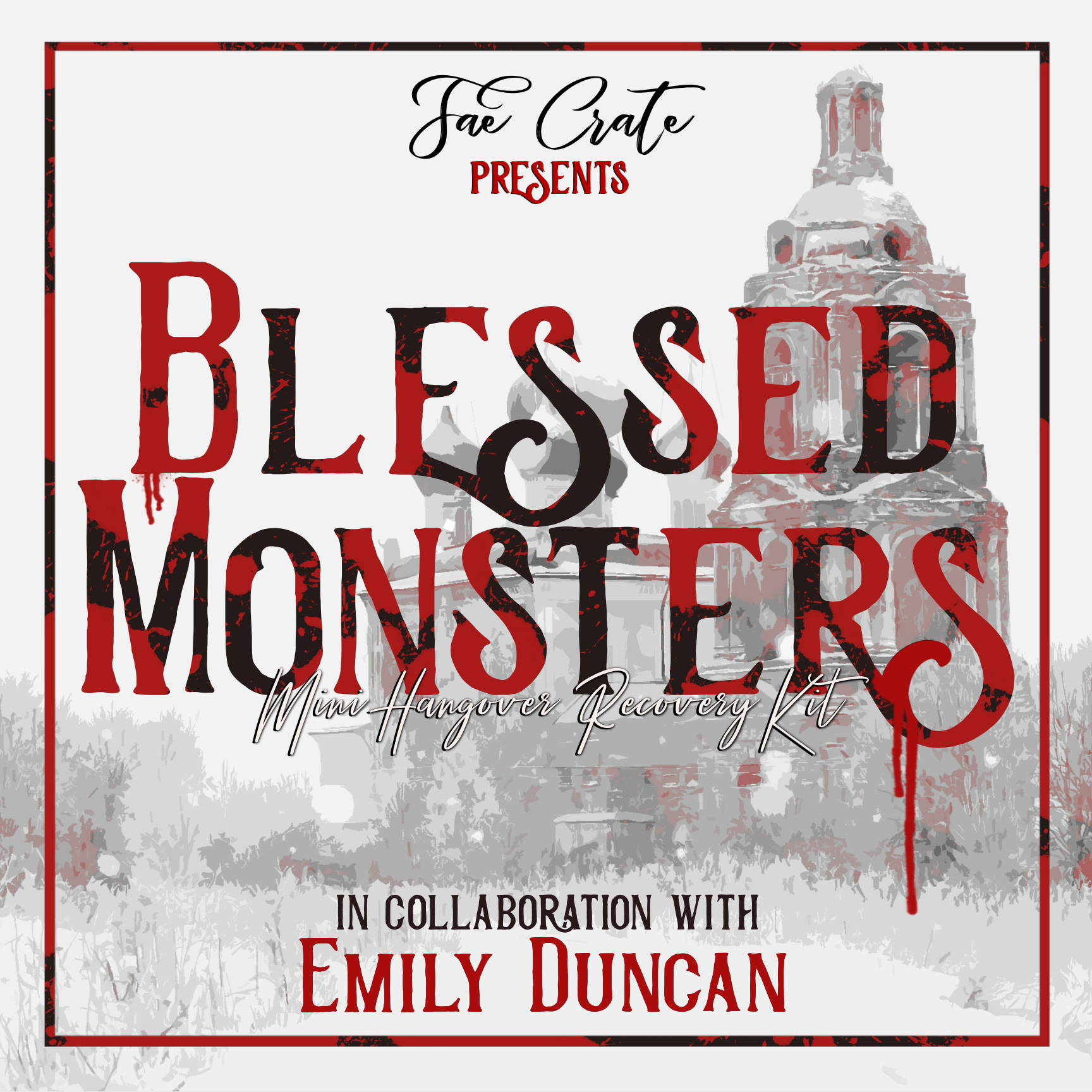 Fae Crate Presents Blessed Monsters Mini Hangover Recovery Kit in Collaboration with Emily Duncan