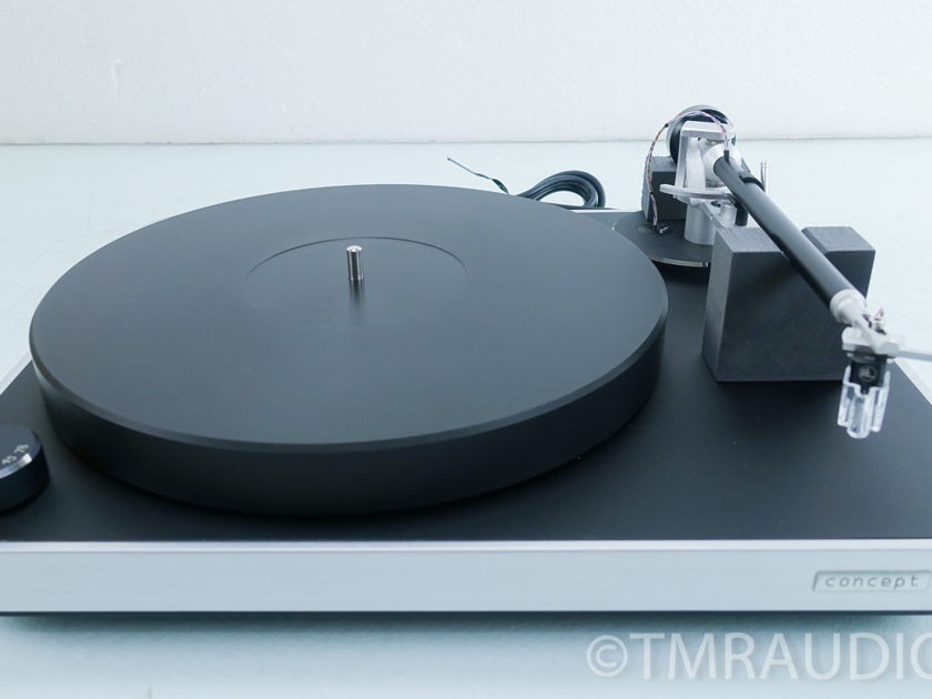 Clearaudio  Concept Turntable; Verify Tonearm; MC Cartridge (9029)