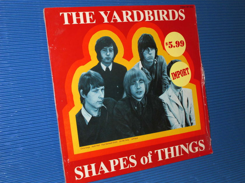 """THE YARDBIRDS -  - """"Shapes of Things"""" - Astan Swiss import Sealed"""