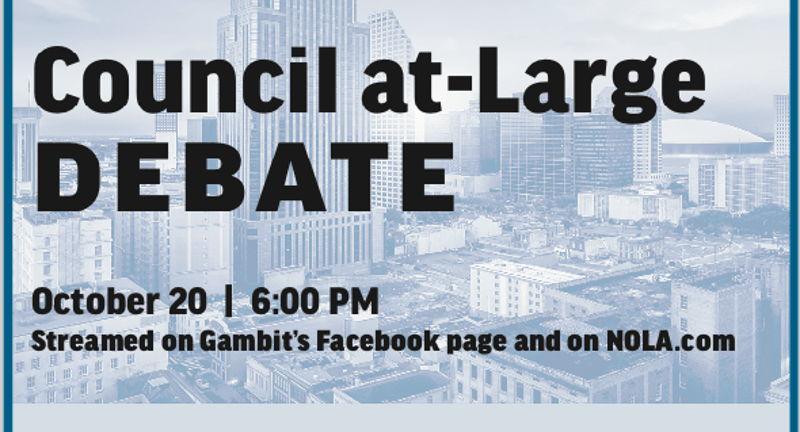 Gambit's 2021 Council at-Large Debate