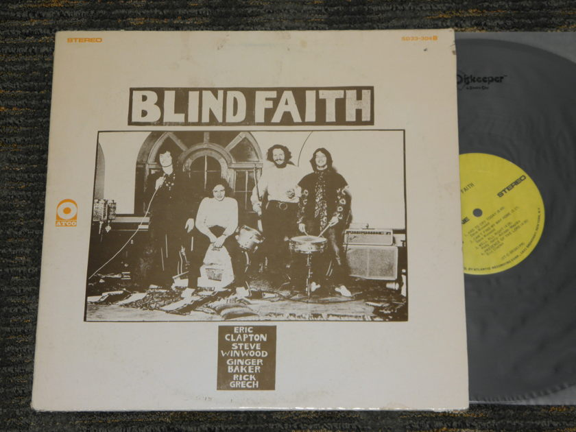 "Blind Faith - ""Blind Faith"" ATCO Orig W/1841 Broadway labels from 1969 ATCO SD 33-304B"