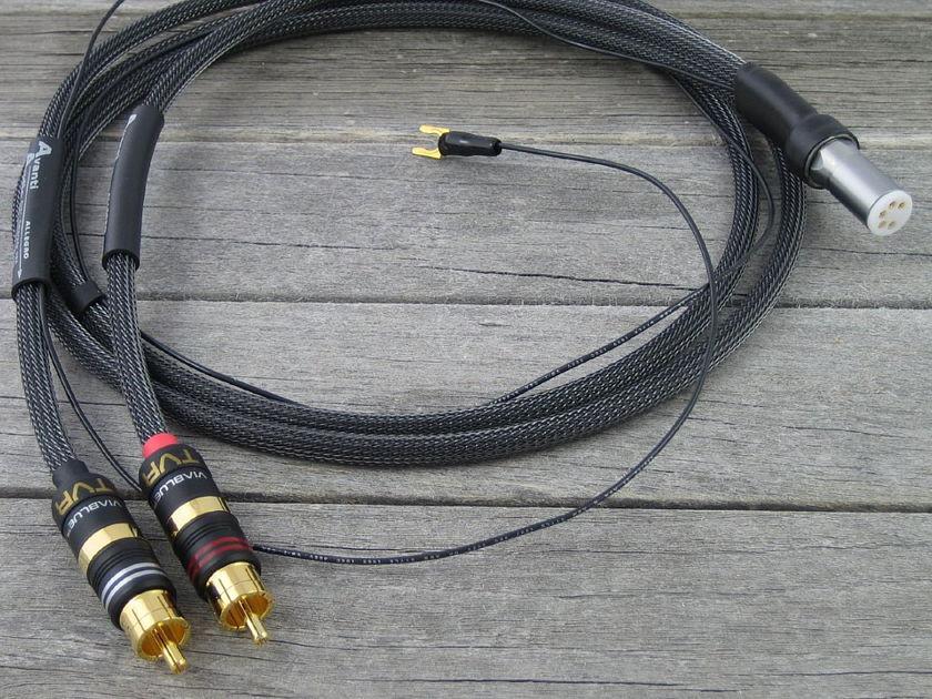 Avanti Audio Allegro Phono DIN to RCA   1.0M