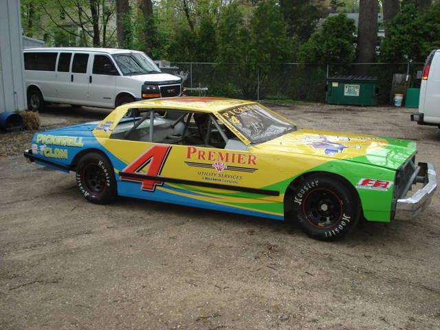 Racecar Numbers & Lettering