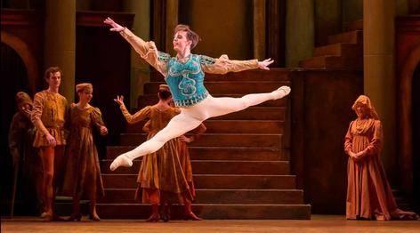 joseph caley, principal dancer with birmingham royal ballet