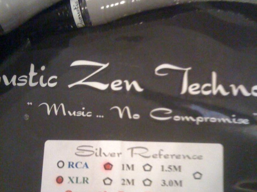 Acoustic Zen SILVER REFERENCE 2 XLR/ 1 METER