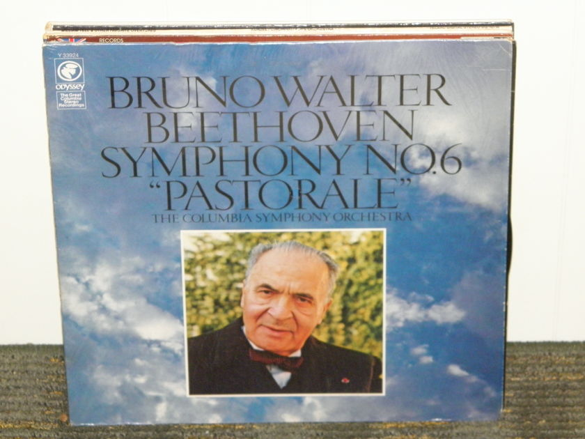 Bruno Walter/Columbia Symphony Orchestra - Beethoven Symphony No . 6 Pastorale  Columbia Y 33924 '70'es reissue of TAS list LP