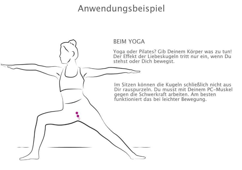 venusHOIZ Sexy Solo - Liebeskugeln für Anfänger, beim Yoga oder Pilates