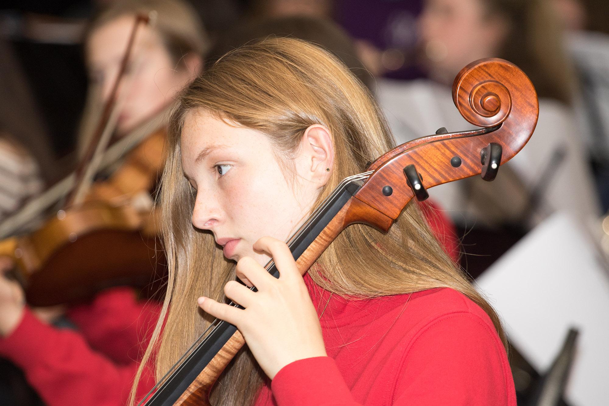 Symphonic waves cello