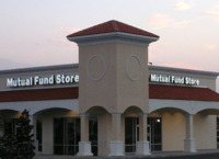 The Mutual Fund Store franchises are often located in shopping centers. This store is in Tampa, Fla.