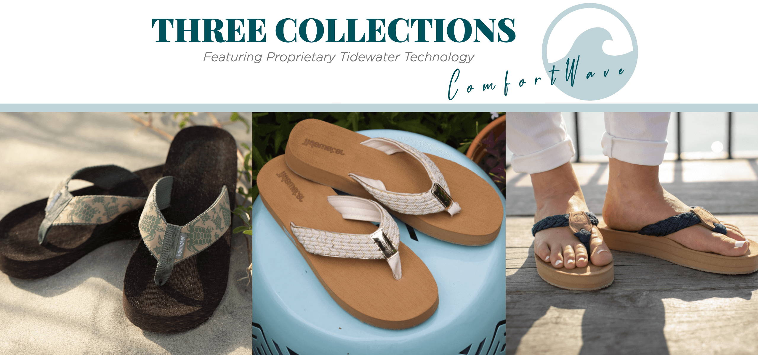 Tidewater Sandals Collections