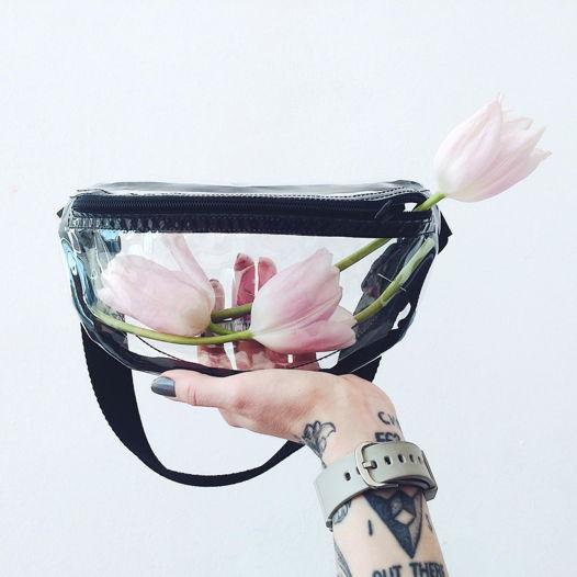 Прозрачная сумка GVOZDEVA