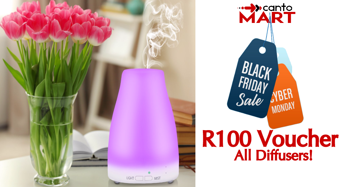 Diffuser black Friday Cyber Monday