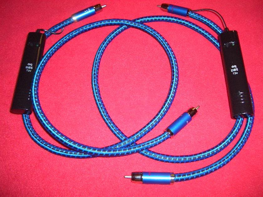 AudioQuest Sky 72V DBS 1 meter pair w/rcas & box
