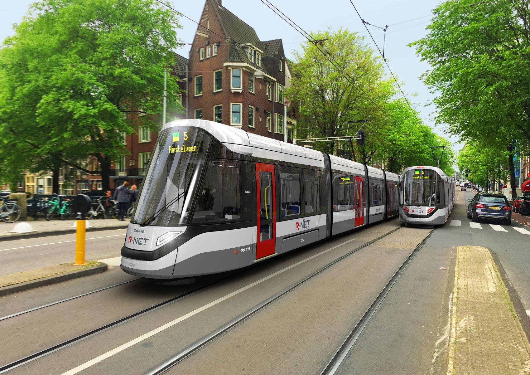 Foto van een tram