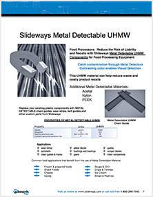 Metal Detectable UHMW
