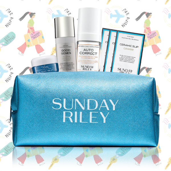 SUNDAY RILEY TRAVEL KIT