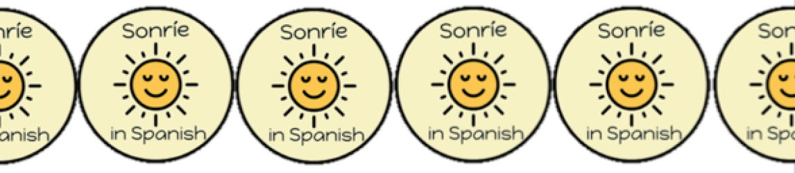Sonríe in Spanish