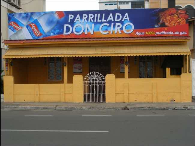 Parrillada Don Ciro-Salinas