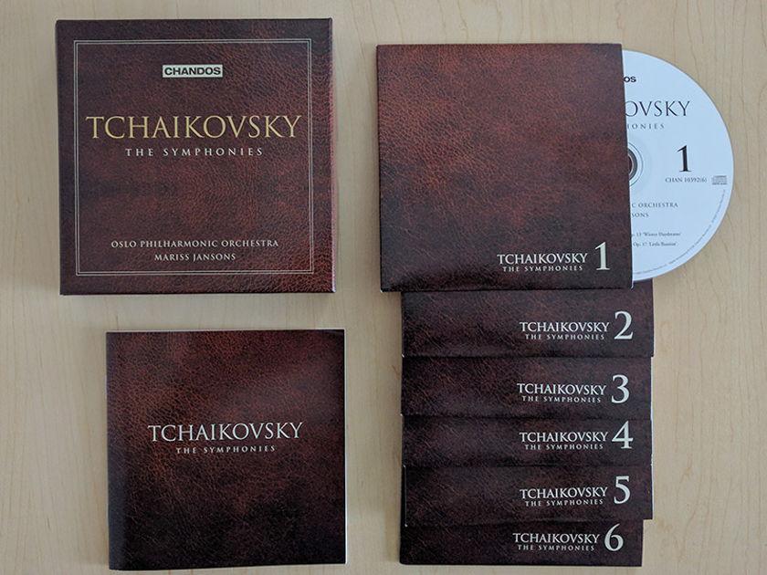 Mariss Jansons Oslo Philharmonic - Tchaikovsky Complete Symphonies Chandos