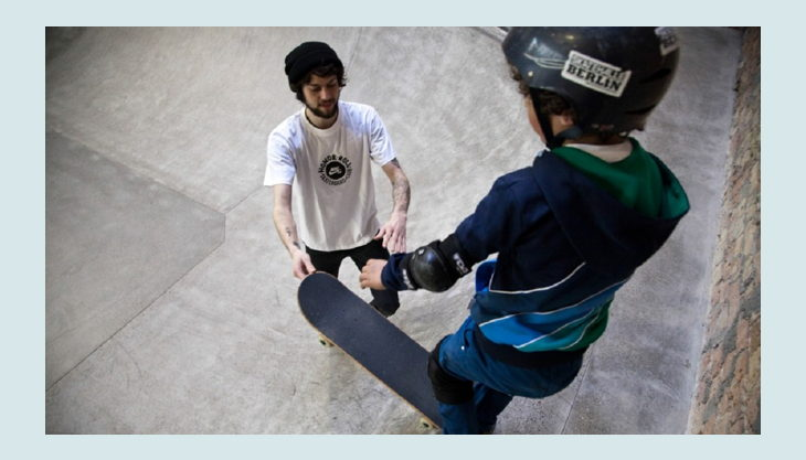 skatehalle berlin downpipe üben