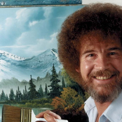 Picture of Need a Date Night or Group Idea to do with Friends? Try having a Bob Ross Paint Night!