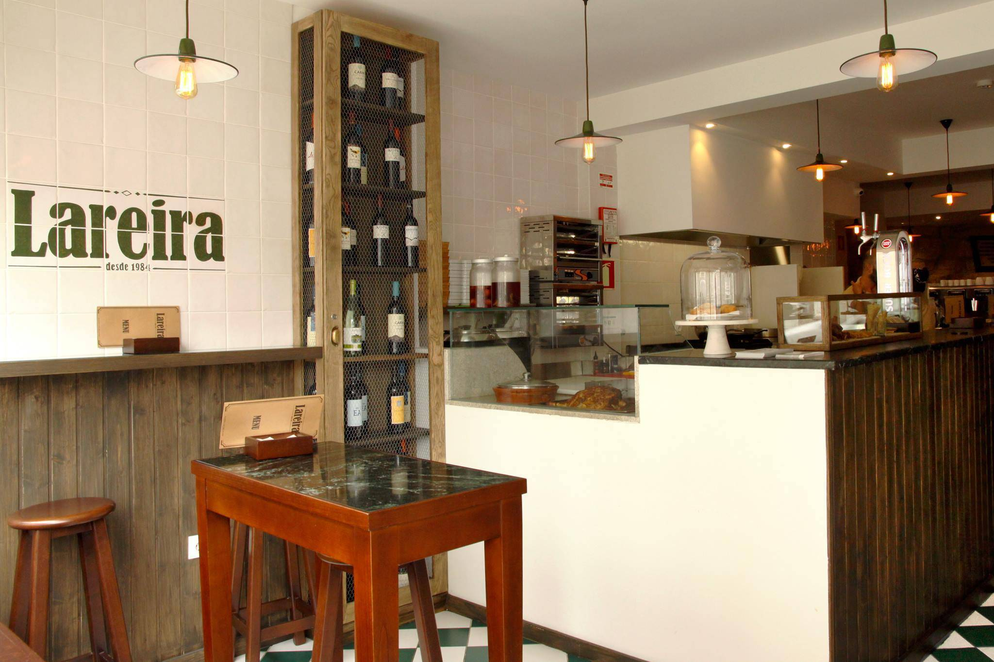Our team picks Lareira restaurant for a typical tapas meal or sandwich in Porto.
