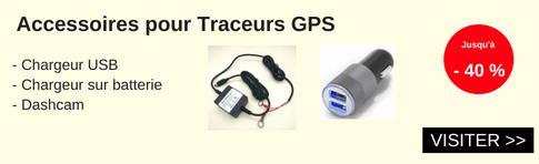 accessoires pour traceurs gps
