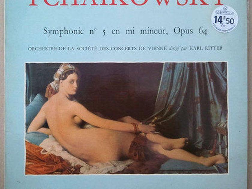 Karl Richter/Tchaikovsky - Symphony No.5 / French Musidisc Imported / NM