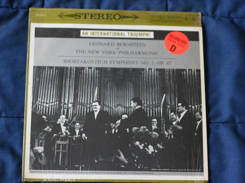Leonard Bernstein - Shostakovich Symphony No. 5, Op. 47 MS 6115