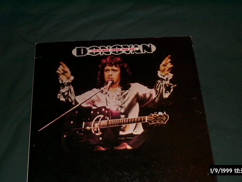 Donovan - Spring Tour 1973 sony japan only lp nm