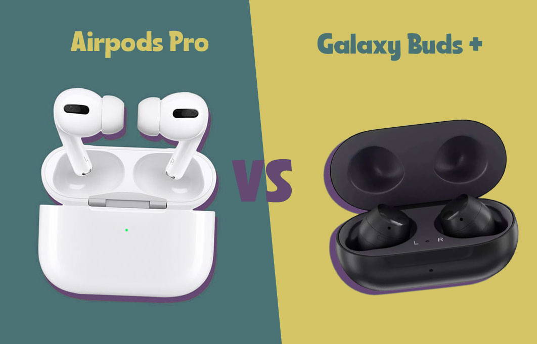 comparatif galaxy buds airpods pro