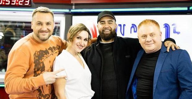 Jah Khalib дал живой концерт на «Русском Радио» - Новости радио OnAir.ru