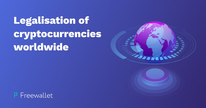 The legal status of cryptocurrencies around the world