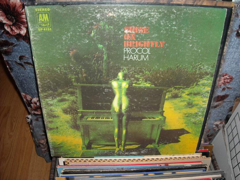 Procol Harum - Shine On Brightly A&M  LP (c)