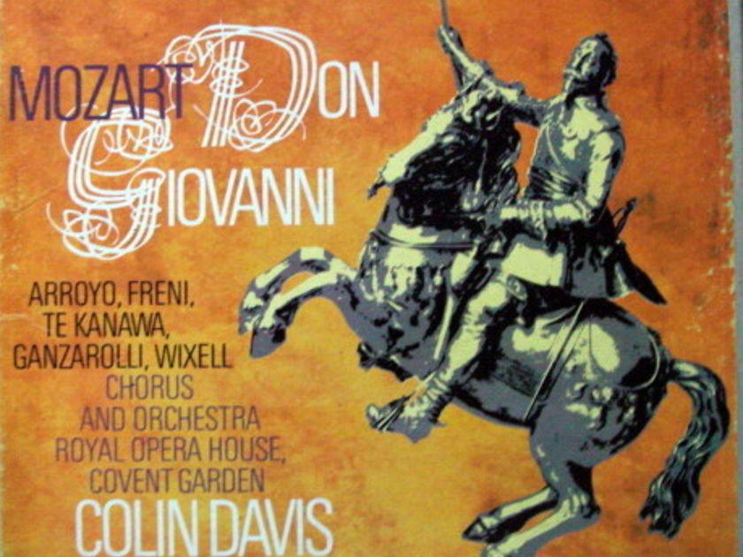 Philips / DAVIS, - Mozart Don Giovanni, MINT, 3LP Box Set!