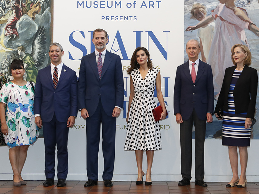 King & Queen of Spain visit SAMA
