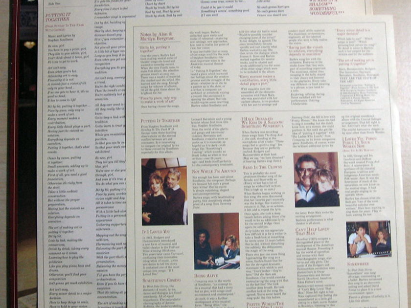 Barbra Streisand - The Broadway Album -  1985 Columbia OC 40092