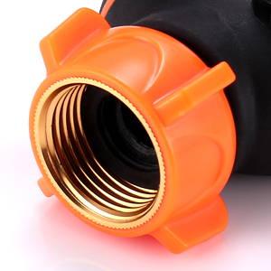 outdoor faucet splitter, spigot splitter, brass hose splitter,