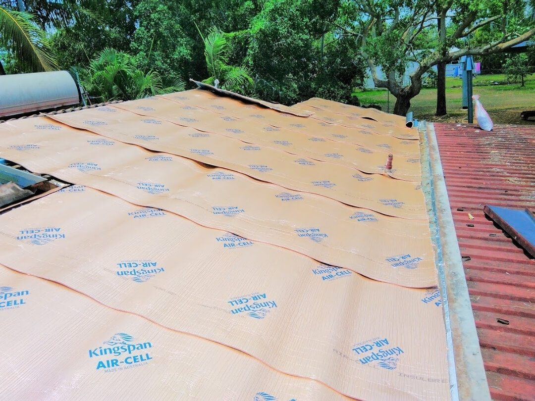 Roof Insulation Darwin