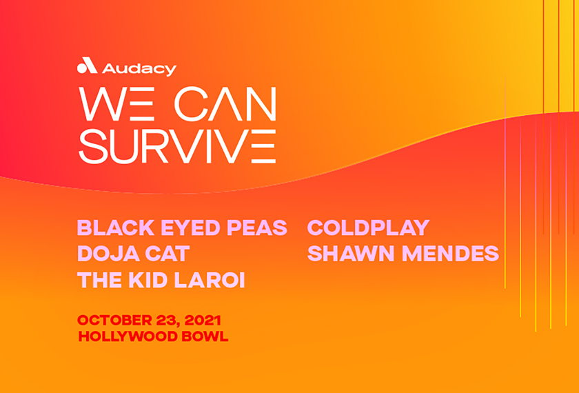 AUDACY'S 8th Annual WE CAN SURVIVE artwork