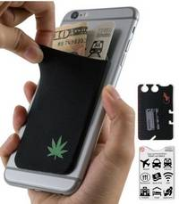 phone wallet Weed by gecko travel tech