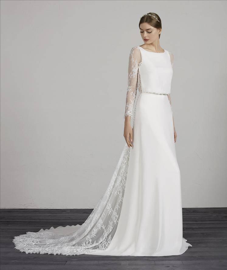 PRONOVIAS MONROE WEDDING DRESS