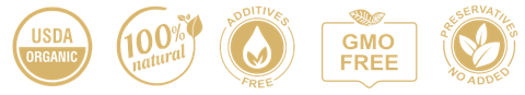 Organic Lemongrass Oil - 100% Pure, GMO FREE, No Additives, No Preservatives